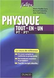 Physique tout en un PT-PT* : cours et exercices corrigés : Le cours de référence
