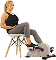 Sunny Health & Fitness SF-B0418 Magnetic Mini Exercise Bike with Digital Monitor and 8 Level Resist