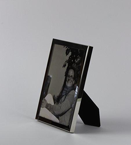 3 Stck. Chronos Bilderrahmen Fotorahmen 13 x 18 cm Farbe Chrom glänzend