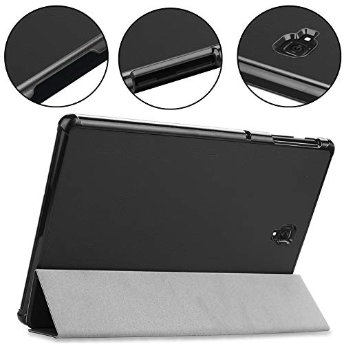 Magent PU Leder Schutzhülle für 2018Samsung Galaxy Tab S426,7cm T830T835sm-t830sm-t835Tablet Case Cover (schwarz) (Samsung S4 Leder-cover)