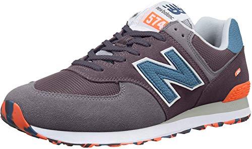 New Balance Herren 574 Marbled Street Sneaker, Grau Light Shale, 42 EU -