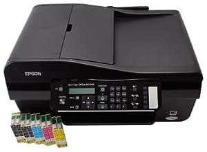 Epson Stylus Office BX305F + 10 kompatible Patronen + 1,8m USB-Kabel