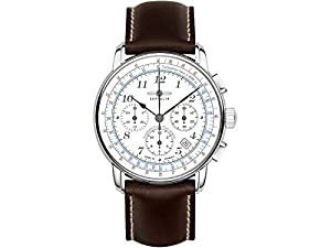 Zeppelin mens watch LZ126 Los Angeles Chronograph automatic 7624-1