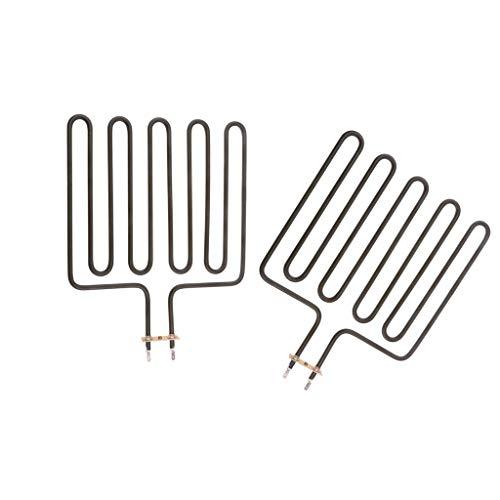 FLAMEER 2 Stücke Heizelement Range Saunaofen Einheiten Spas Schnell Erwärmung Heiße Verdickte Rohre Für SCA 2670W