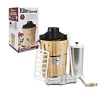 MaxiMatic EIM-506 Elite Gourmet 6-Quart Old-Fashioned Pine-Bucket Electric/Manual Ice-Cream Maker