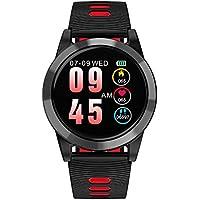 Oshide Smart Watch Bluetooth Smartwatch Pantalla táctil Reloj pulsera con cámara Disco pantalla completa IP67 Resistente al agua OLED Pantalla colorida Sports Fitness Tracker para teléfonos Android