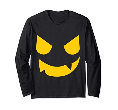 Kostüm Jackolantern - Gruseliges Kürbisgesicht Halloween Kostüm Jackolantern Langarmshirt