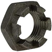 5 Stk DIN 935 Kronenmutter Feingewinde M18 x 1,5 Stahl