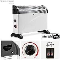 TROTEC 1410000510 TCH 20 E Heizgerät mit Frostwächter stufenloser Thermosteuerung 2000 W Konvektor, Automatikbetrieb, besonders energieeffizient, flexibel als Stand- oder Wandgerät einsetzbar