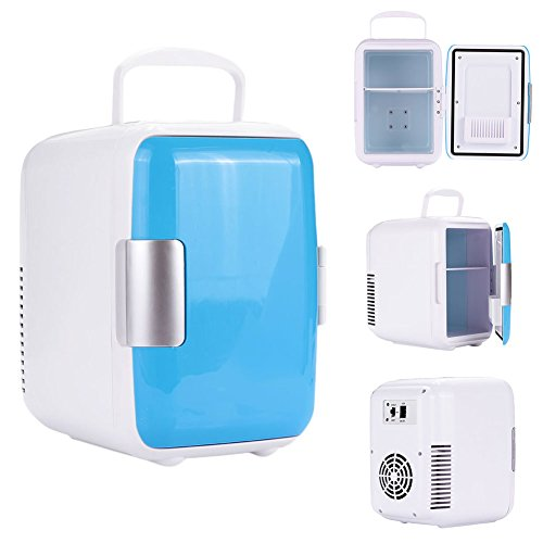 Sedeta Beverage Center Freezer Home Dorm Dual Use Warming/Cooling Car Vehicle Mini Refrigerator