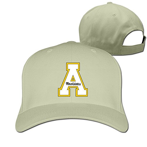 XCarmen Okpk Appalachian State Mountaineers Logo Unisex Hat Adjustable Baseball Cap Natural