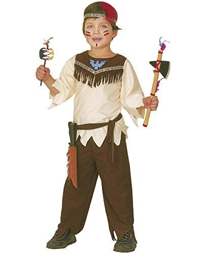Costume carnevale indiano travestimento per bambini *05358-3/4 anni