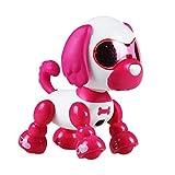 Comaie Smart Robot Dog Touch elettronico Pet Giocattolo educativo Bambino Regalo di Compleanno Rc Intelligente Nuovo Divertente Interattivo Puppy Sound LED Riconoscimento Luce per Bambini Playmate