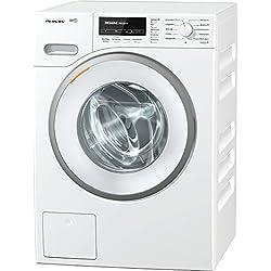 Miele WMB120WPS D LW Waschmaschine FL / A+++ / 176 kWh / Jahr / 1600 UpM / 8 kg / 9900 L / Jahr / Bügeln leicht gemacht / Thermo-Schontrommel mit Vorbügeln / lotusweiß