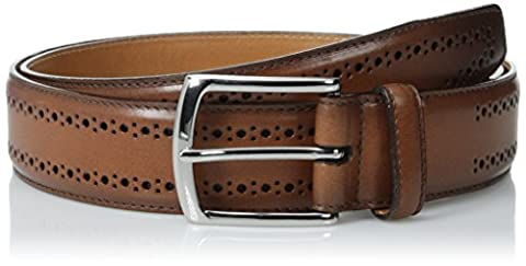 Allen Edmonds Men's Manis T-Shirt Belt - Brown