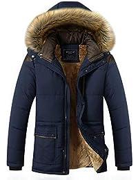Laisla fashion Giacca da Uomo in Soffice Imbottitura Invernale Imbottita in  Classiche Piumino per Uomo 3951a4033ee