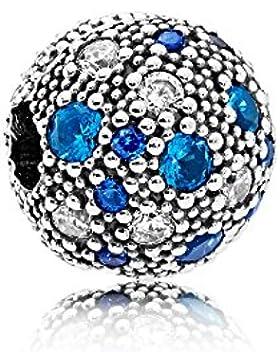 Pandora 791286NSBMX Clip blaue Himmelsterne
