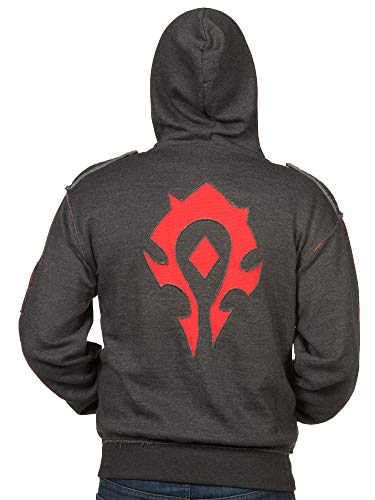JINX World of Warcraft Herren Kapuzenpullover Champion of The Horde - Mehrfarbig - X-Klein