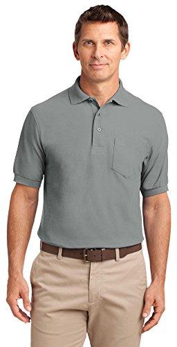 Port Authority Herren Poloshirt Cool Grey