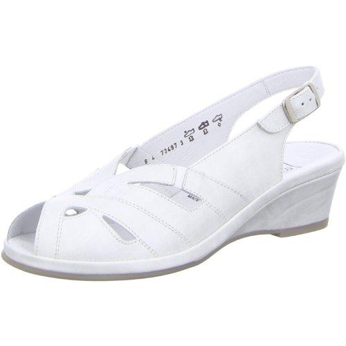 Semler Lissy L2582-019-011 Damen Sandale Komfort Offwhite