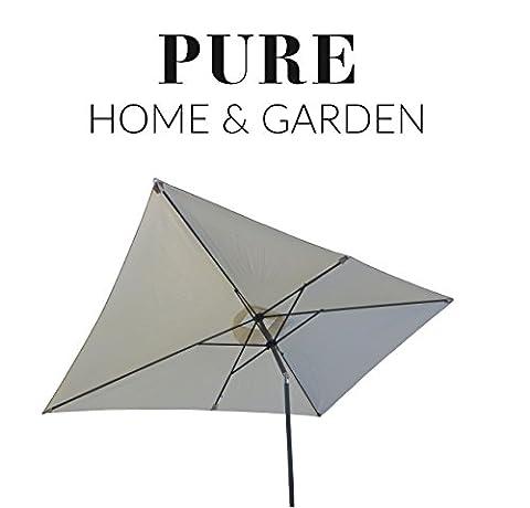 Pure Home & Garden Kurbelschirm