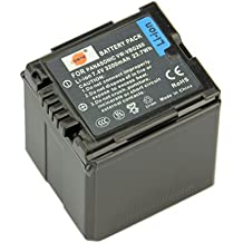 DSTE® VW-VBG260 VBG260 Li-ion Batería para Panasonic VBG260, AG-AC7, AG-AF100, AG-HMC40, AG-HMC80, AG-HMC150, HDC-HS250, HDC-HS300, HDC-HS700, HDC-SD600, HDC-SD700, HDC-SDT750, HDC-TM300, HDC-TM700, SDR-H80