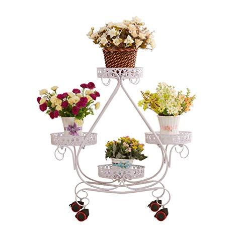 enstand Pflanzen Display Regal Gartenwagenständer - European Style Triangle Style Für Innen- Und Außendekoration ()