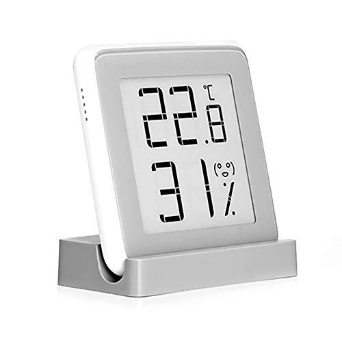 MIJIA Miaomiaoce Elektronisches Hochpräzisions-Magnet-Thermometer-Hygrometer mit Emoji-Eingabeaufforderungen, Temperatur- und Luftfeuchtigkeitsmesser (Miaomiaoce Thermometer)
