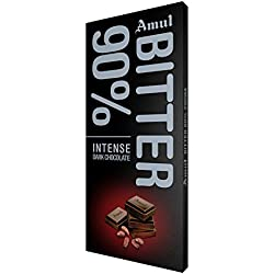Amul Bitter 90% Chocolate
