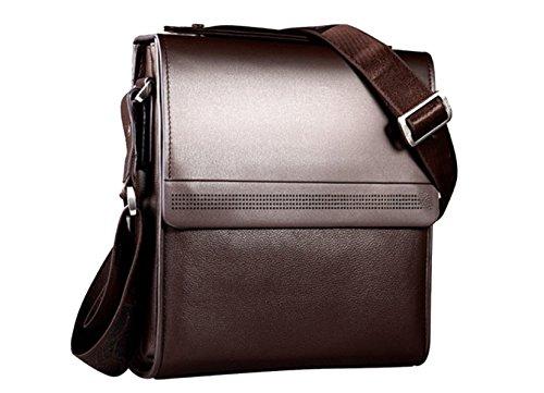 Yy.f Echte Markenmannbeutel Kurierbeutel Beiläufige Beutel Praktische Innen Solides Paket. Multi-Größe Gut Aussehendes Paket Brown