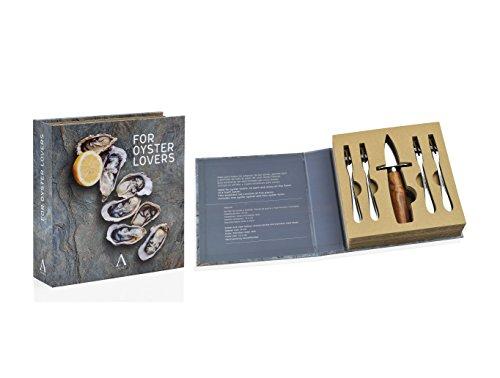 Andrea house–set apribottiglie ostriche + 4forchette, cc16061)