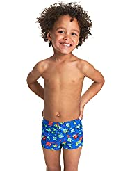 Zoggs Boy's Bramble Hip Racer Swim Suit