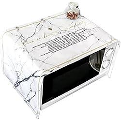 Cubierta del horno de microondas Paño Guardapolvo Cocina Campana del horno Cubierta de tela 100 * 35cm , a