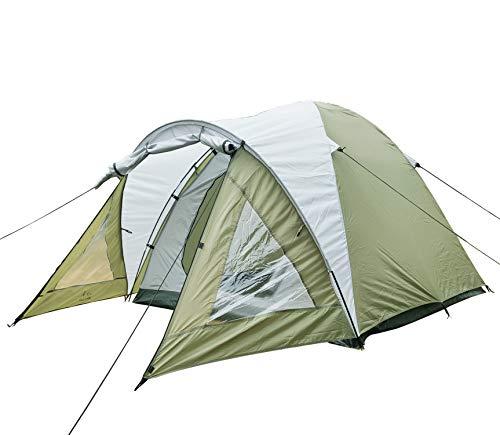Climecare Kuppelzelt 2-3 Personen, Zelte 3 Jahreszeiten Kuppelzelt Outdoor Wasserdicht Campingzelt Iglu-Zelt,doppelschichtig Wasserdichtes, 210x210x140cm