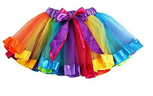 Redstar fancy dress - gonna tutu per bambina - multicolore - small (2-5 anni)