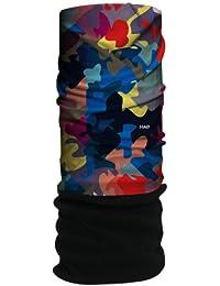 HAD Head Accessoires Original, Urban Camouflage Fleece/Black Wm, One size, HA210-0158