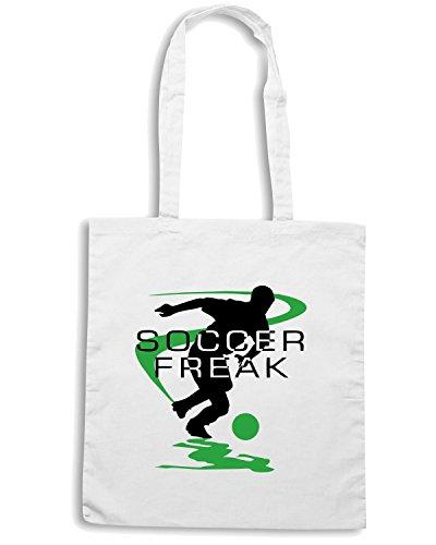 T-Shirtshock - Borsa Shopping OLDENG00252 soccer Bianco