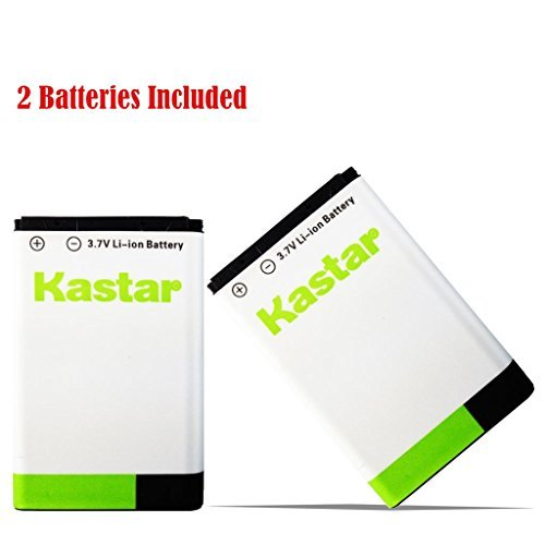 Kastar BL-5C Battery (2-Pack) for NOKIA 1100 2112 2270 2280 2285 2300 2600 2850 3100 3105 3120 3600 3620 3650 3660 5140 6108 6280 5030 5130 6030 6085 6086 6230 6230i 6267 6270 6555 6600 6630 6670 6680 6681 6820 6822 7600 7610 E50 E60 N70 N70 MusicEdition N71 N72 N91 N91 8GB N-Gage XpressMusic Degen and Meloson Portable AM/FM Radio --Supper Fast and Free Shipping from USA  available at amazon for Rs.3749