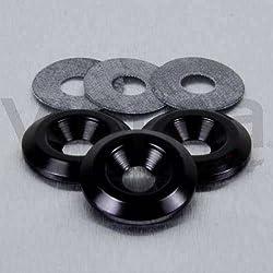 PRO-BOLT - 50160 : Arandela De Aluminio Avellanada M6 Negro Lwac6-22Bk
