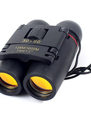 Fernrohr 30X60 Doppelrohr-High Power High Definition Low Light Night Vision Teleskop (Light Vision Low Pc Night)