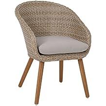 Gartenstühle rattan braun  Suchergebnis auf Amazon.de für: gartenstühle rattan