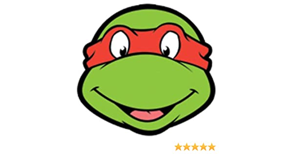 Raphael Teenage Mutant Ninja Turtles Face Mask: Amazon.co.uk ...