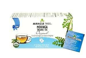 Miracle Tree Organic Moringa Tea, Original