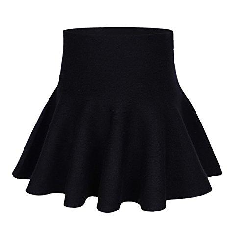 storeofbaby Mädchen Casual Mini Rock Plissee Uniform Unterrock für Frühling Herbst -