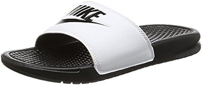 Nike Benassi Jdi, Chanclas Hombre, Multicolor (Midnight Navy / Windchill), 44 EU (9 UK)