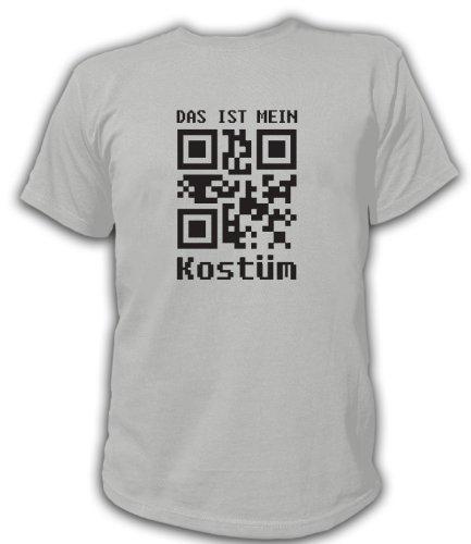 Artdiktat QR Code Karneval Herren T-Shirt - Das ist mein