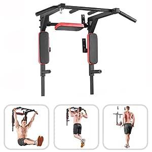 Wall mounted pull up bar - chin up bar - pullup and dip
