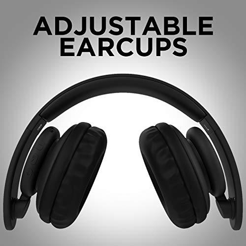 boAt Rockerz 450 Wireless Bluetooth Headphone (Luscious Black) Image 4