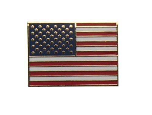 Yantec Flaggenpin USA rechteckig Pin Anstecknadel Fahnenpin