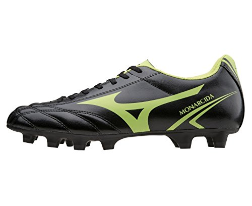 Mizuno–MIZUNO monarcida MD Chaussures de Football pour Homme en Cuir Noir 152409 noir